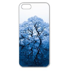 Nature Inspiration Trees Blue Apple Seamless Iphone 5 Case (clear)