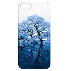 Nature Inspiration Trees Blue Apple Iphone 5 Hardshell Case With Stand