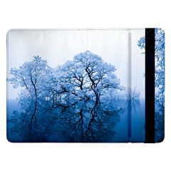 Nature Inspiration Trees Blue Samsung Galaxy Tab Pro 12 2  Flip Case