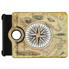 Map Vintage Nautical Collage Kindle Fire Hd 7