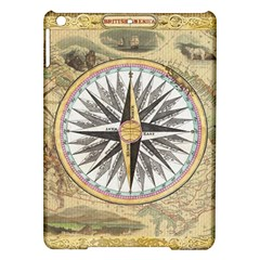 Map Vintage Nautical Collage Ipad Air Hardshell Cases