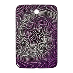 Graphic Abstract Lines Wave Art Samsung Galaxy Note 8 0 N5100 Hardshell Case