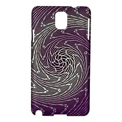 Graphic Abstract Lines Wave Art Samsung Galaxy Note 3 N9005 Hardshell Case