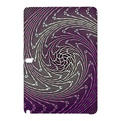 Graphic Abstract Lines Wave Art Samsung Galaxy Tab Pro 12 2 Hardshell Case