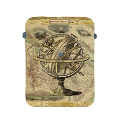 Map Compass Nautical Vintage Apple Ipad 2/3/4 Protective Soft Cases