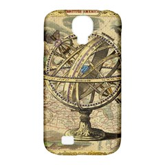 Map Compass Nautical Vintage Samsung Galaxy S4 Classic Hardshell Case (pc+silicone)