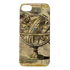 Map Compass Nautical Vintage Apple Iphone 5s/ Se Hardshell Case