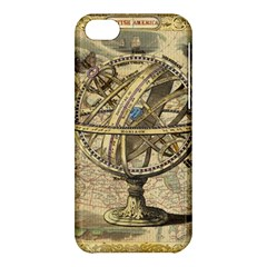 Map Compass Nautical Vintage Apple Iphone 5c Hardshell Case