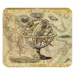 Map Compass Nautical Vintage Double Sided Flano Blanket (small)