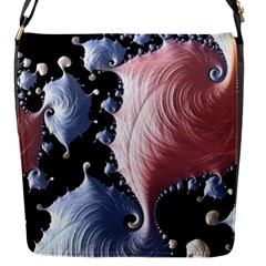 Fractal Art Design Fantasy Science Flap Messenger Bag (s)