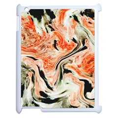 Marble Texture White Pattern Apple Ipad 2 Case (white)