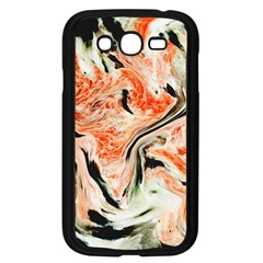 Marble Texture White Pattern Samsung Galaxy Grand Duos I9082 Case (black)