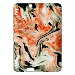 Marble Texture White Pattern Kindle Fire Hdx Hardshell Case