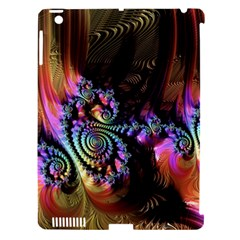 Fractal Colorful Background Apple Ipad 3/4 Hardshell Case (compatible With Smart Cover)
