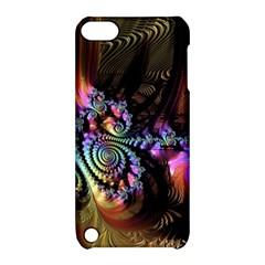 Fractal Colorful Background Apple Ipod Touch 5 Hardshell Case With Stand