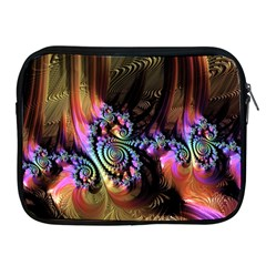 Fractal Colorful Background Apple Ipad 2/3/4 Zipper Cases