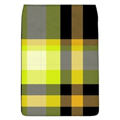 Tartan Abstract Background Pattern Textile 5 Flap Covers (l)