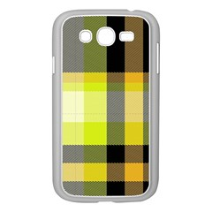 Tartan Abstract Background Pattern Textile 5 Samsung Galaxy Grand Duos I9082 Case (white)