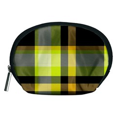 Tartan Abstract Background Pattern Textile 5 Accessory Pouches (medium)