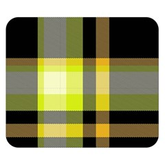 Tartan Abstract Background Pattern Textile 5 Double Sided Flano Blanket (small)