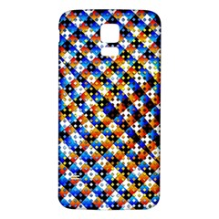 Kaleidoscope Pattern Ornament Samsung Galaxy S5 Back Case (white)