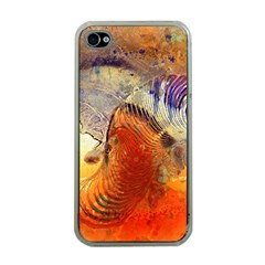 Dirty Dirt Image Spiral Wave Apple Iphone 4 Case (clear)