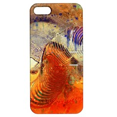 Dirty Dirt Image Spiral Wave Apple Iphone 5 Hardshell Case With Stand