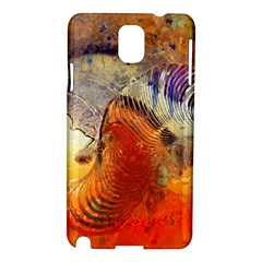 Dirty Dirt Image Spiral Wave Samsung Galaxy Note 3 N9005 Hardshell Case