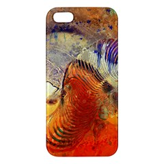 Dirty Dirt Image Spiral Wave Iphone 5s/ Se Premium Hardshell Case