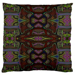 Pattern Abstract Art Decoration Large Flano Cushion Case (one Side)