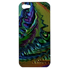 Fractal Art Background Image Apple Iphone 5 Hardshell Case