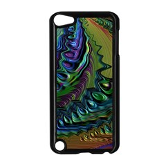 Fractal Art Background Image Apple Ipod Touch 5 Case (black)