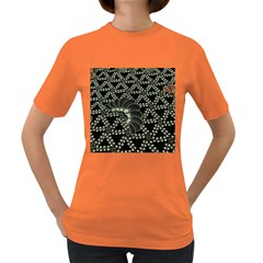 Batik Traditional Heritage Indonesia Women s Dark T Shirt