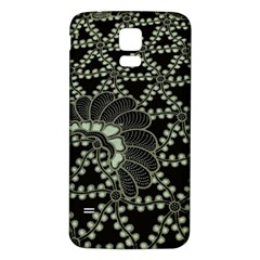 Batik Traditional Heritage Indonesia Samsung Galaxy S5 Back Case (white)