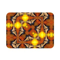 Dancing Butterfly Kaleidoscope Double Sided Flano Blanket (mini)