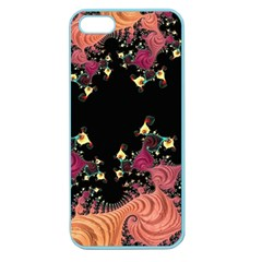 Fractal Fantasy Art Design Swirl Apple Seamless Iphone 5 Case (color)