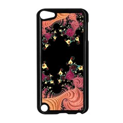 Fractal Fantasy Art Design Swirl Apple Ipod Touch 5 Case (black)