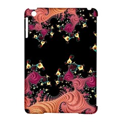 Fractal Fantasy Art Design Swirl Apple Ipad Mini Hardshell Case (compatible With Smart Cover)