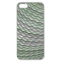 Art Design Style Decorative Apple Seamless Iphone 5 Case (clear)