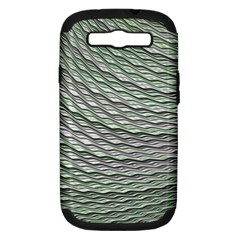 Art Design Style Decorative Samsung Galaxy S Iii Hardshell Case (pc+silicone)