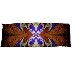 Fractal Splits Silver Gold Body Pillow Case (dakimakura)