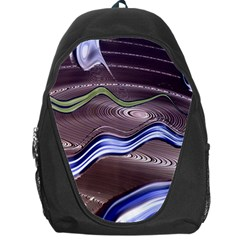 Art Design Decoration Card Color Backpack Bag