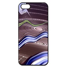 Art Design Decoration Card Color Apple Iphone 5 Seamless Case (black)