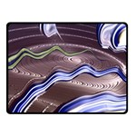 Art Design Decoration Card Color Double Sided Fleece Blanket (Small)  45 x34 Blanket Front