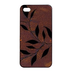 Texture Pattern Background Apple Iphone 4/4s Seamless Case (black)