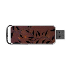 Texture Pattern Background Portable Usb Flash (one Side)