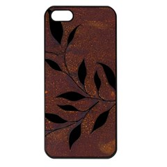 Texture Pattern Background Apple Iphone 5 Seamless Case (black)