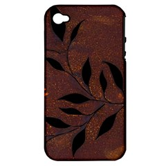 Texture Pattern Background Apple Iphone 4/4s Hardshell Case (pc+silicone)