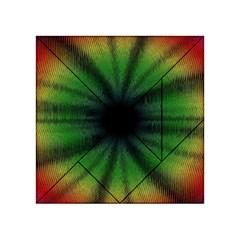 Sunflower Digital Flower Black Hole Acrylic Tangram Puzzle (4  X 4 )