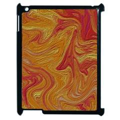 Texture Pattern Abstract Art Apple Ipad 2 Case (black)
